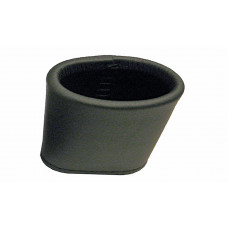 Dice cup of soft leather in Black / Red / Brown / Gray