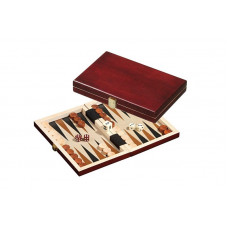 Backgammon Board in Wood Saloniki XS Travel (1100)