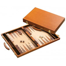 Backgammon Set Made of Wood Ithaka L