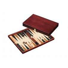Wooden Backgammon Set M in Cassette design Naxos