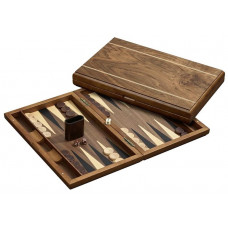 Backgammon set in Wood Cyclades Delos L
