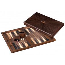 Backgammon Board in Wood Cyclades Rinia L (1157)