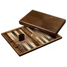 Backgammon Board in Wood Cyclades Iraklia L (1154)