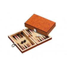 Backgammon Board in Wood Karpathos XS Travel