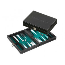 Backgammon Set S, Traveller in Green