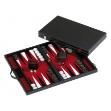 Backgammon Board L, Standard in Red