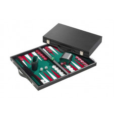 Backgammon Board M, Classic in Green
