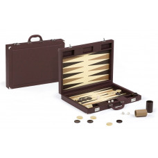 Backgammon Set Tradition XL Dal Negro in Brown
