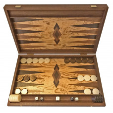 Backgammon Board in Wood Akrathi L