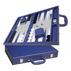 Silverman & Co Favour M Backgammon Board in Blue