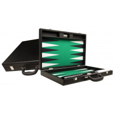 Silverman & Co Premium L Backgammon Board in Black