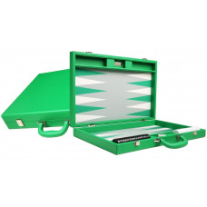 Silverman & Co Premium L Backgammon Board in Green