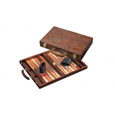 Backgammon Set Made of Wood Syros M