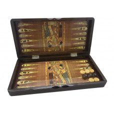 Backgammon set in Wood Egypt M