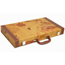 Backgammon Board L Middleton MAP in Brown