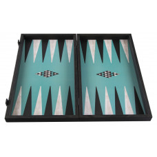 Backgammon Board in Wood Geometric L