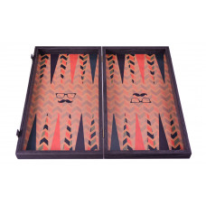 Backgammon Board in Wood Hipster L
