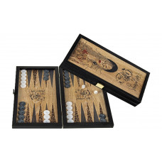 Backgammon Board in Wood Coffee M