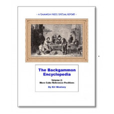 "Backgammon Book 108 p ""Backgammon Encyclopedia Volume 2"""