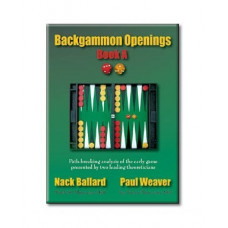 "Backgammon Book 152 p ""Backgammon Openings"""