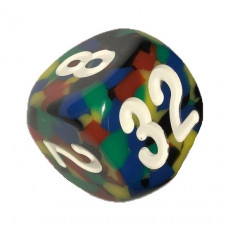 Doubling Cube Handmade 34 mm Multicolor (0544)