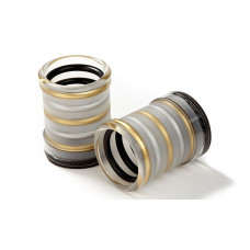 Exclusive Backgammon Round Dice Cups of plexiglass Sonné
