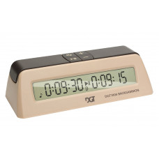 DGT 1006 Backgammon Timer in Beige