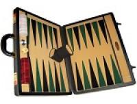 Backgammon Boards of Leatherette