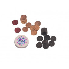 Carrom Pieces Set
