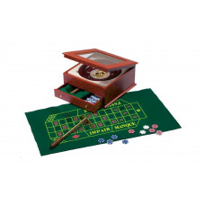 Roulette complete set wood and plexiglass Exclusive