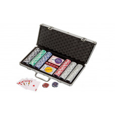 Poker complete set in aluminium case Standard