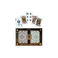 KEM Playing Cards Poker size JACQUARD Regular Index