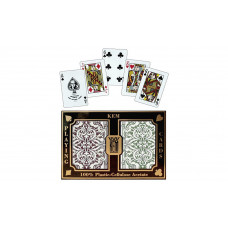 KEM Playing Cards Bridge size Jacquard Regular Index