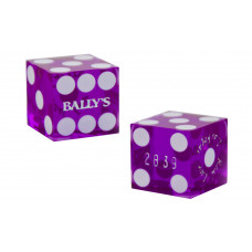 Casino Precision Dice from Bally´s in Las Vegas