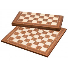 Chess Board London Folding Chess notation FS 50 mm