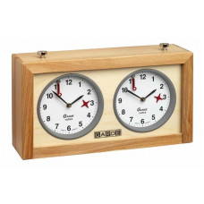 Chess Clock Gardé Mechanical Wooden case (4668)