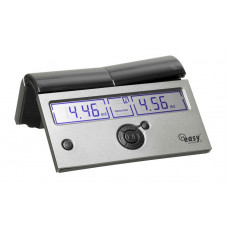 Chess Clock DGT Easy Plus Silver Digital (4686)