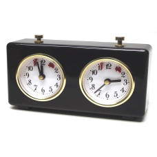 Mechanical Chess clock BHB plastic in black