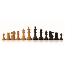 Wooden Chess Pieces Hand-carved Staunton KH 76 mm (G1026)
