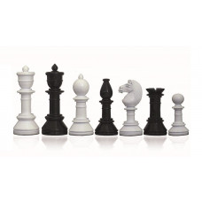 Modern Chess Pieces Glossy Suitor KH 105 mm (1521)