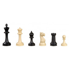 Chess Pieces Plastic Nerva in Black and Ivory KH 95 mm (2015)