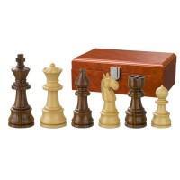 Hand-carved Wooden Chessmen Theoder KH 95 mm