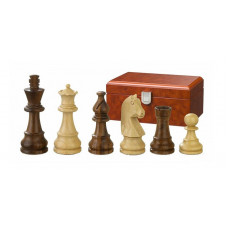 Wooden Chess Pieces hand-carved Titus KH 76 mm (2051)
