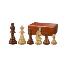 Wooden Chess Pieces Hand-carved Sigismund KH 70 mm (2062)