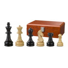 Wooden Chess Pieces Hand-carved Chlodewig KH 83 mm (2070)