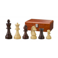 Wooden Chess Pieces Hand-carved Barbarossa KH 78 mm