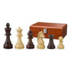 Wooden Chess Pieces Hand-carved Barbarossa KH 90 mm (2115)