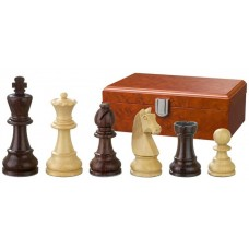 Wooden Chess Pieces Hand-carved Barbarossa 110 mm