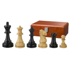 Wooden Chess Pieces Hand-carved Hadrian KH 90 mm (2140)