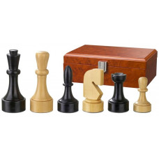 Wooden Chess Pieces 95 mm Modern Style Romulus (2150)